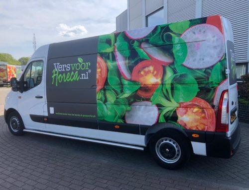 Nieuwe bussen voor Versvoorhoreca.nl