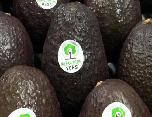 Natuurlijk Vers label avocado