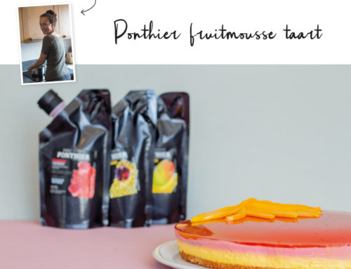 Ponthier Fruit Mousse Taart